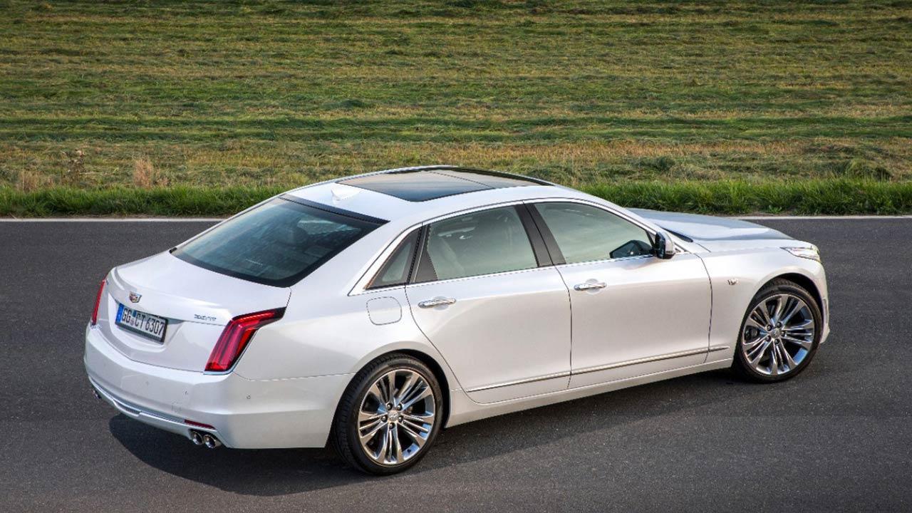 Cadillac CT6 - Seitenansicht