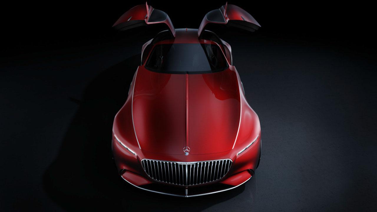 Vision Mercedes-Maybach 6 - offene Flügeltüren