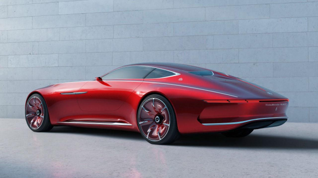 Vision Mercedes-Maybach 6 - Heckansicht
