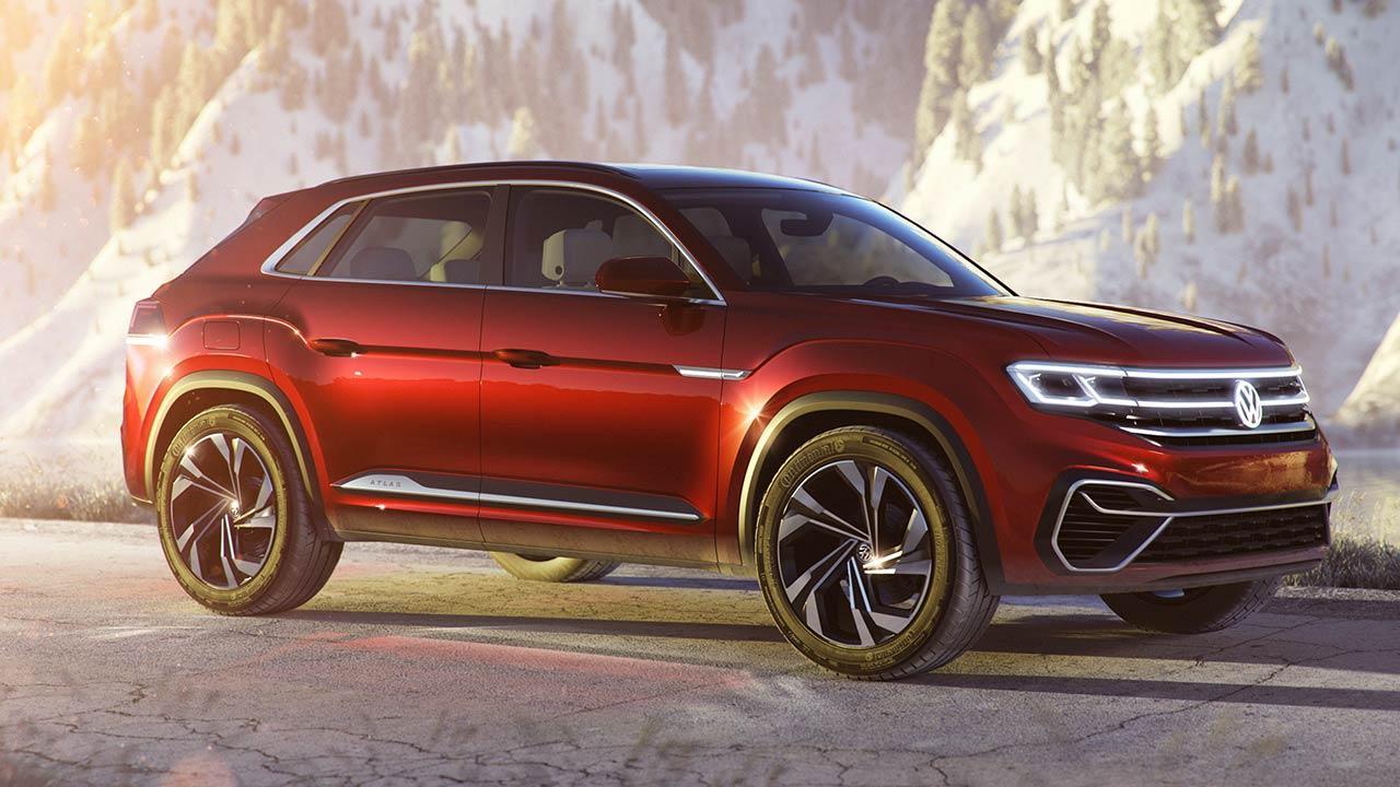 Volkswagen Atlas Cross Sport - Seitenansicht