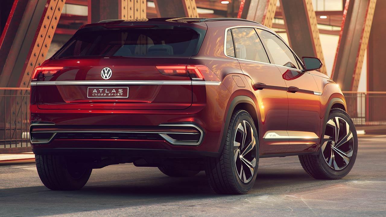 Volkswagen Atlas Cross Sport - Heckansicht