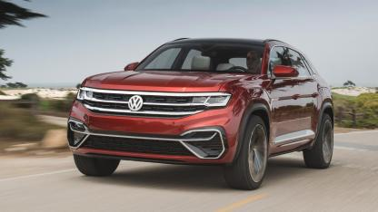 Volkswagen Atlas Cross Sport - in voller Fahrt