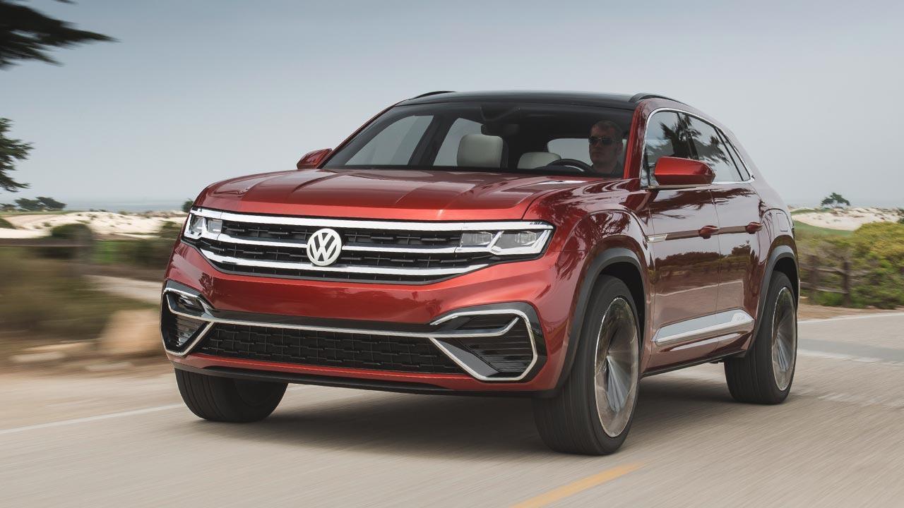 Volkswagen Atlas Cross Sport - in voller Fahrt