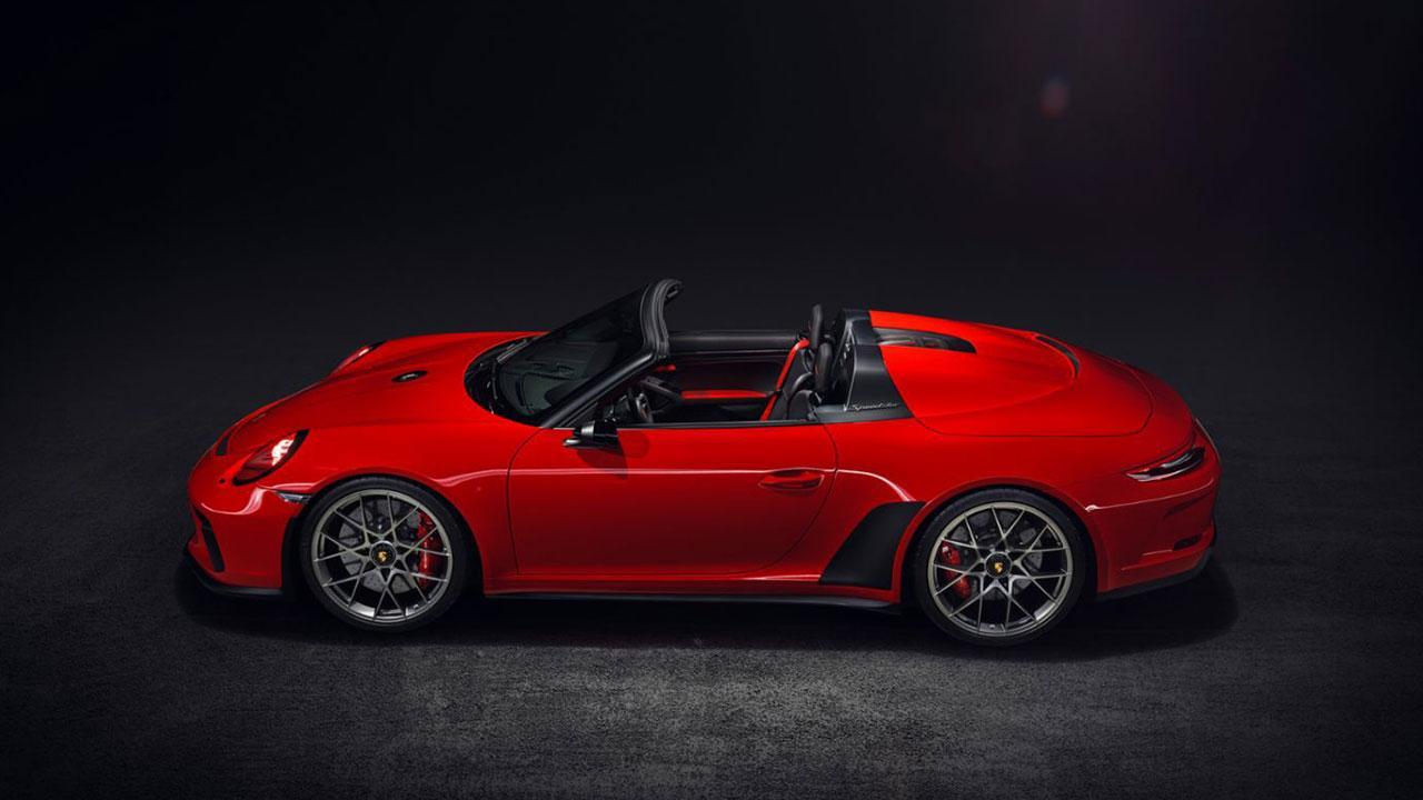 Porsche 911 Speedster - Seitenansicht
