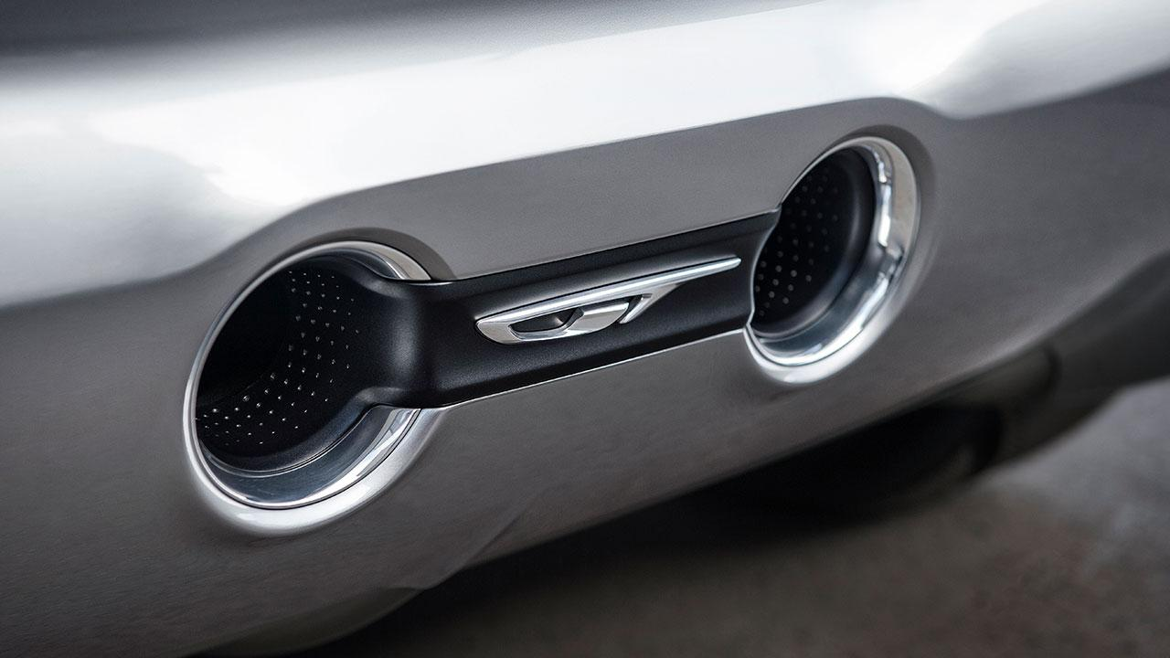 Opel GT Concept - Auspuffanlage