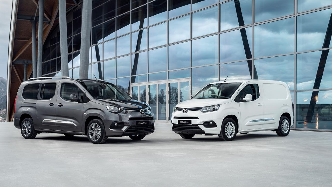 Toyota Proace City - 2 Farben