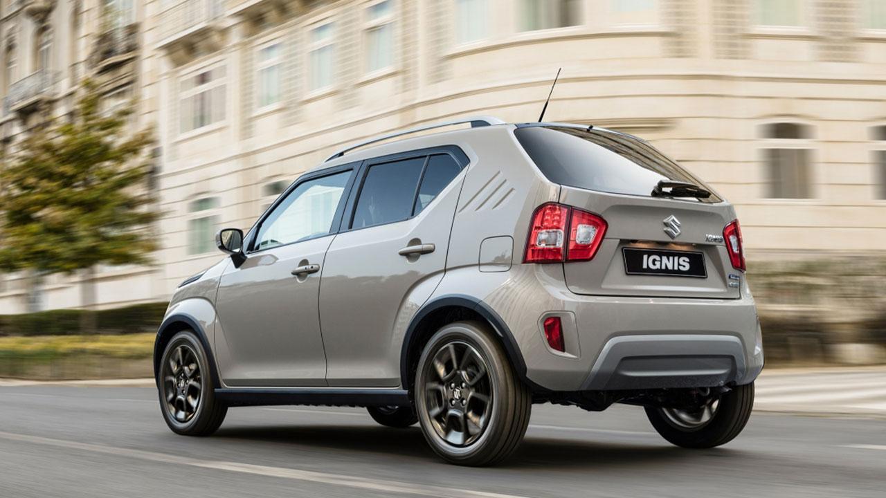 Suzuki Ignis Facelift - Heckansicht