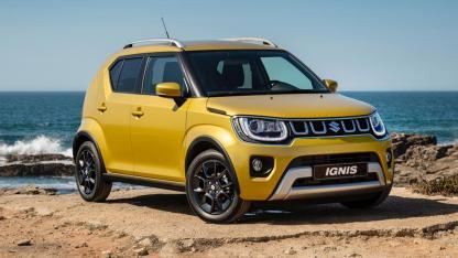 Suzuki Ignis Facelift - am Meer