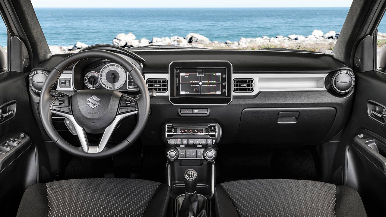 Suzuki Ignis Facelift - Cockpit