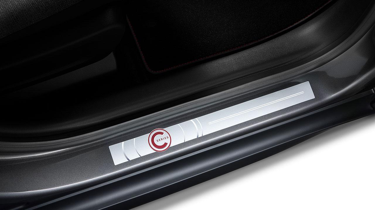 Citroen C3 Aircross Sonderedition C-Series - Seiteneinstiegsleiste