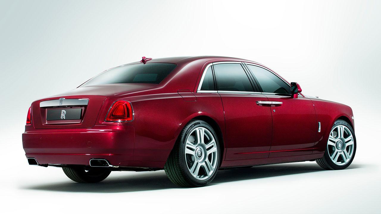 Rolls Royce Ghost - Heckansicht