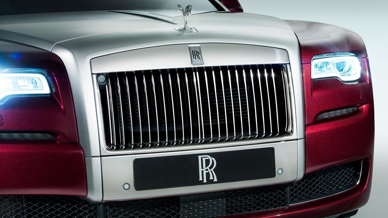 Rolls Royce Ghost - Kühlergrill