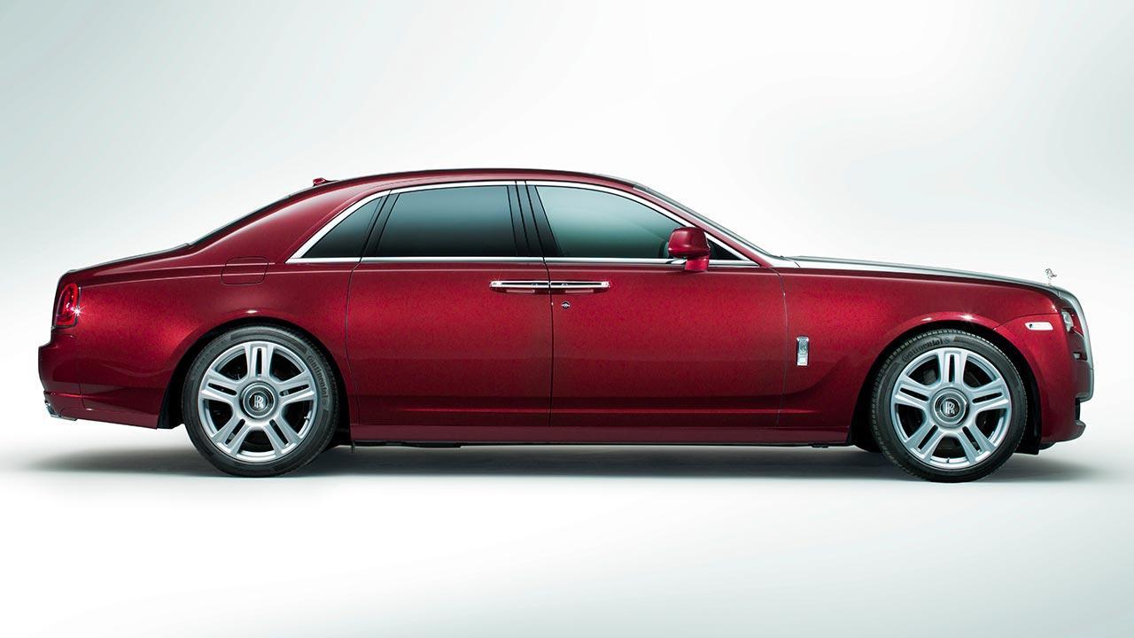 Rolls Royce Ghost - Seitenansicht