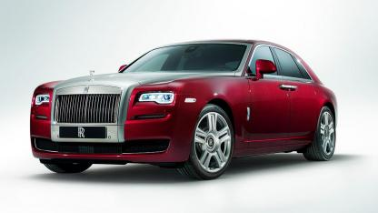 Rolls Royce Ghost - Frontansicht