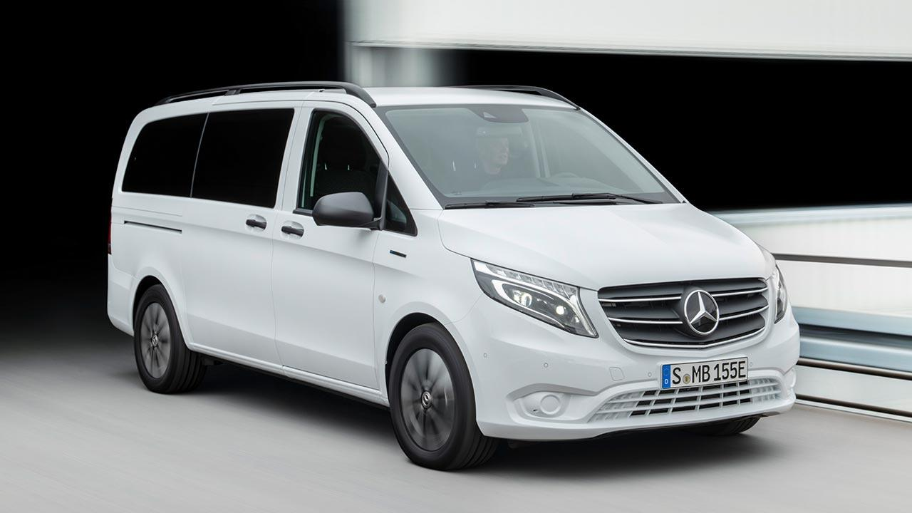Mercedes-Benz eVito Tourer - in voller Fahrt