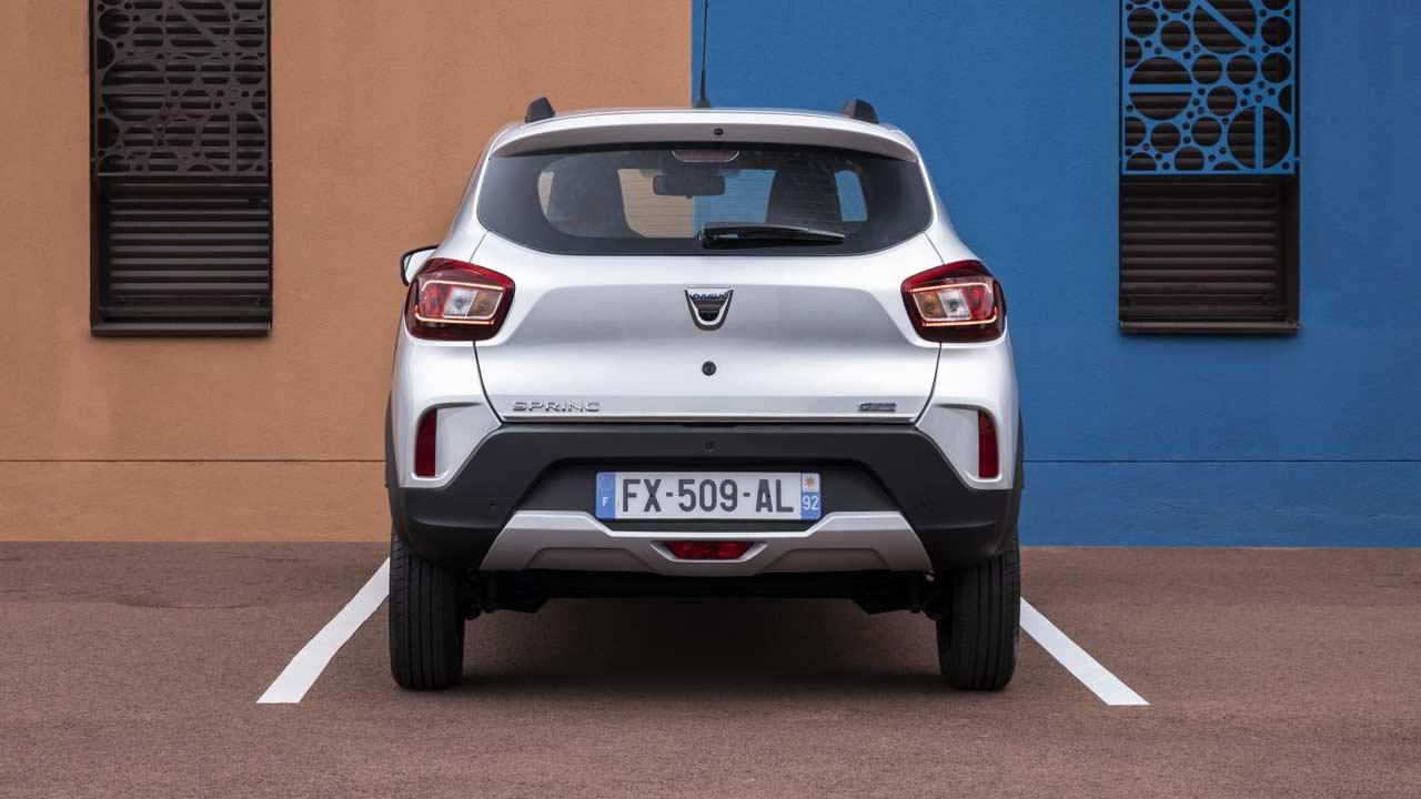 Dacia Spring Electric - Heckansicht