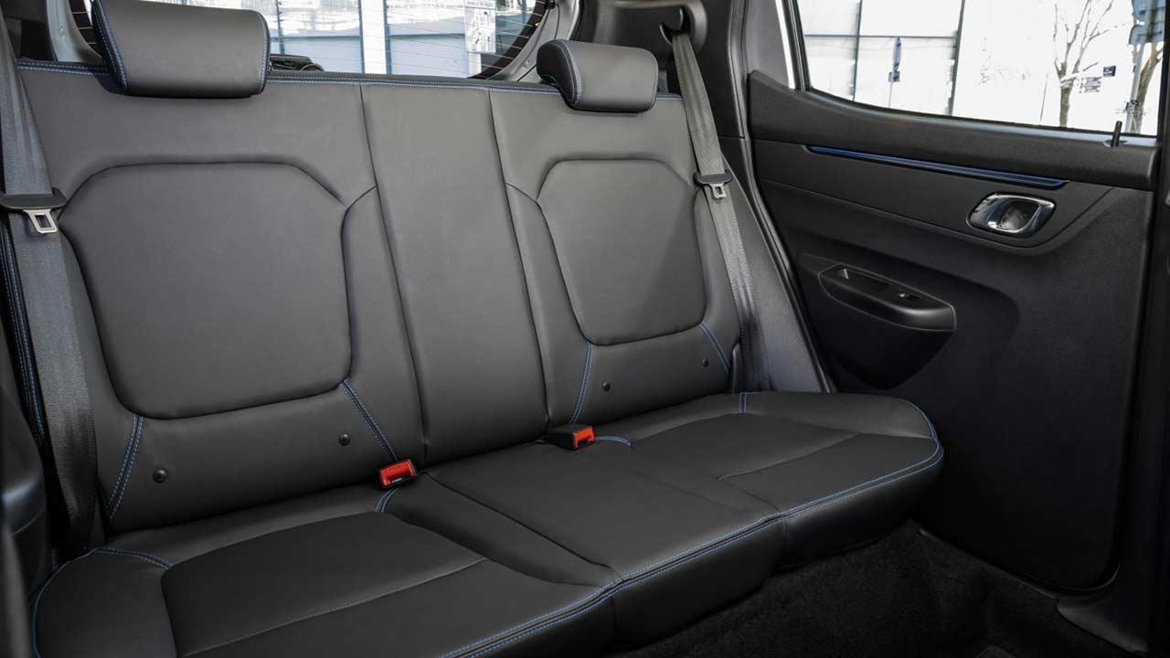 Dacia Spring Electric - Rücksitze