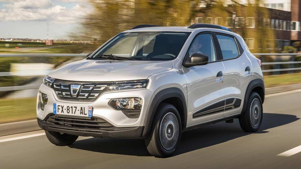 Dacia Spring Electric - in voller Fahrt