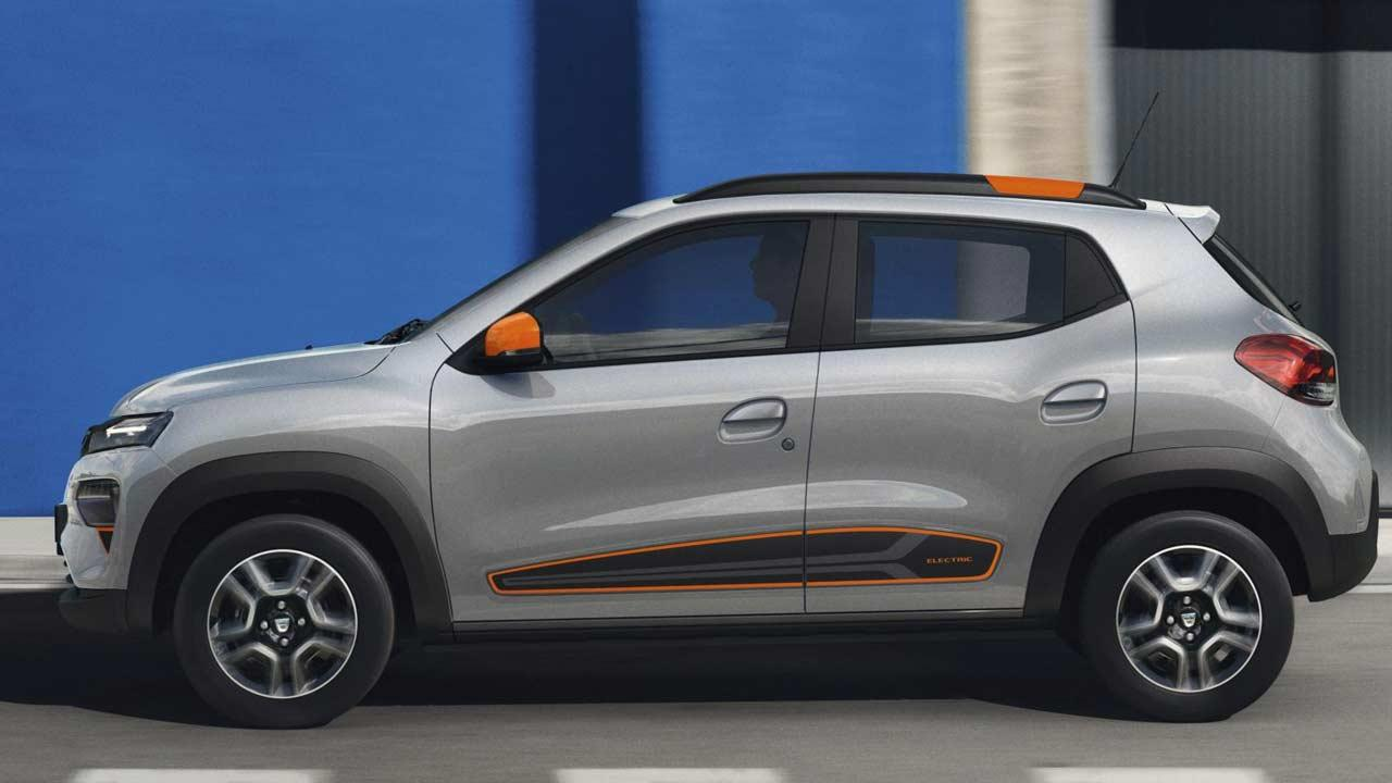 Dacia Spring Electric - Seitenansicht