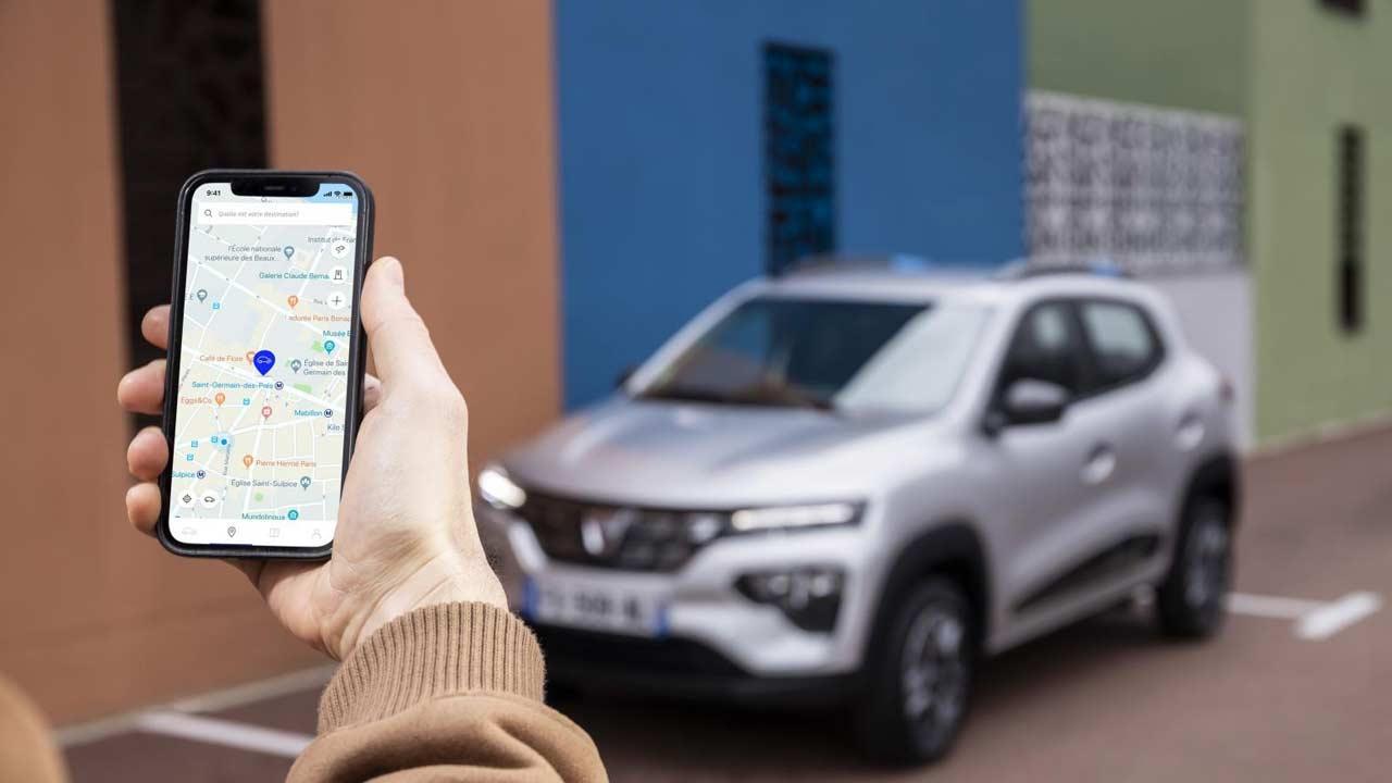 Dacia Spring Electric - App Steuerung