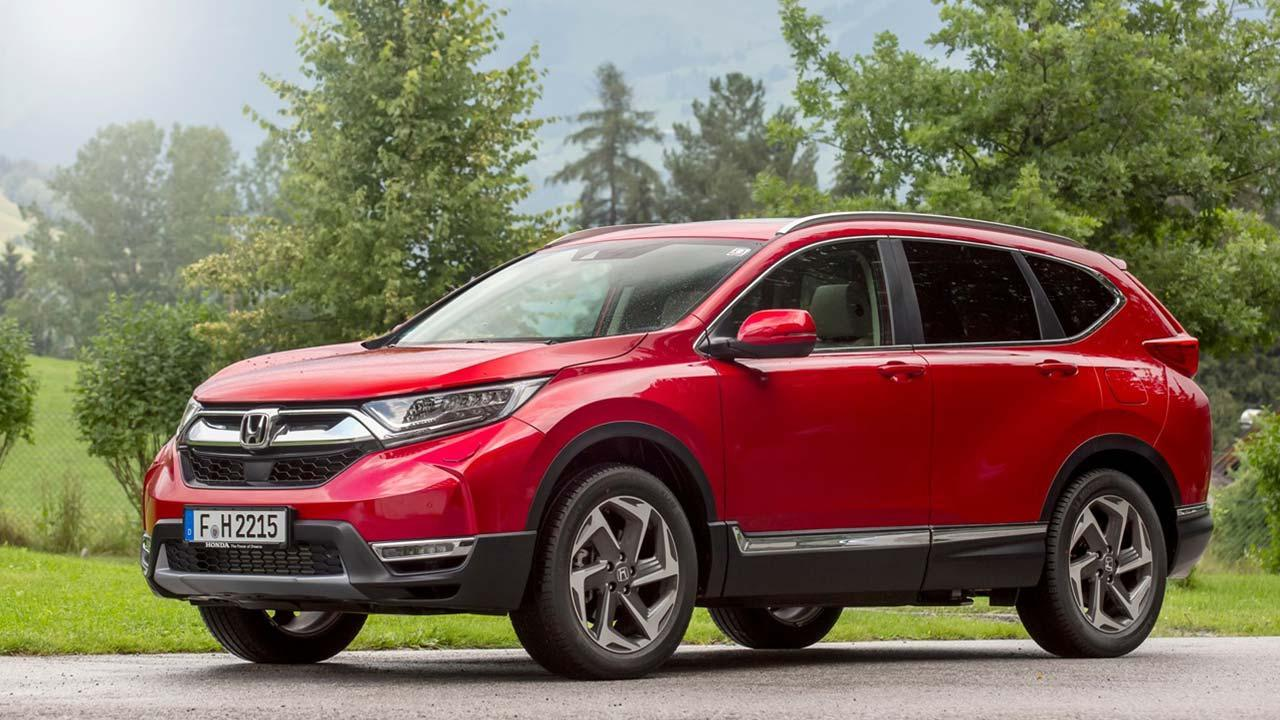 Honda CR-V - Seitenansicht