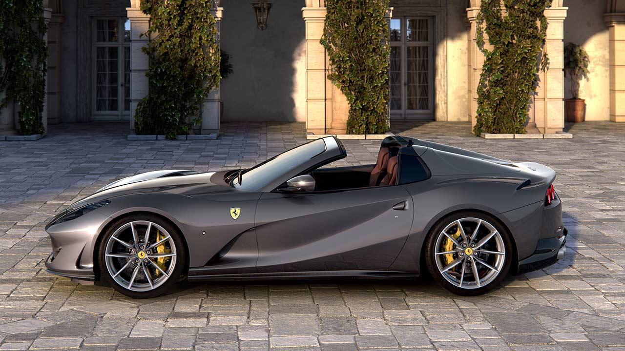 Ferrari 812 GTS - Seitenansicht