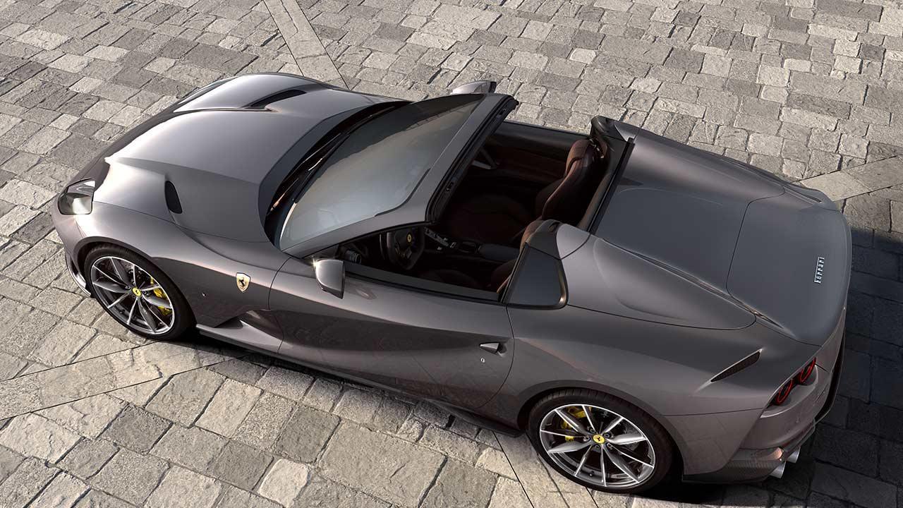 Ferrari 812 GTS - Vogelsperspektive Back