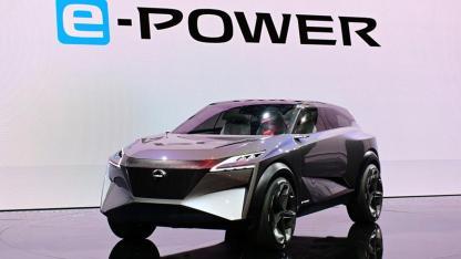 Nissan IMQ Concept - seitliche Frontantsicht