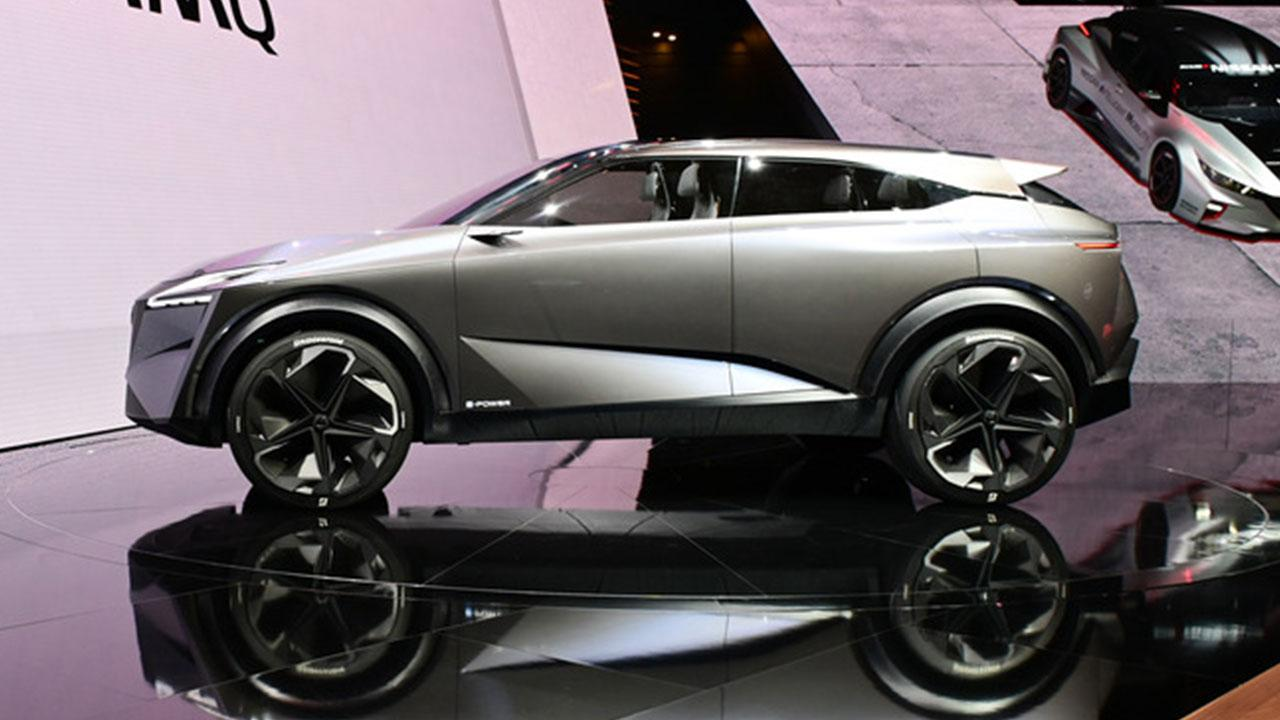 Nissan IMQ Concept - Seitenansicht