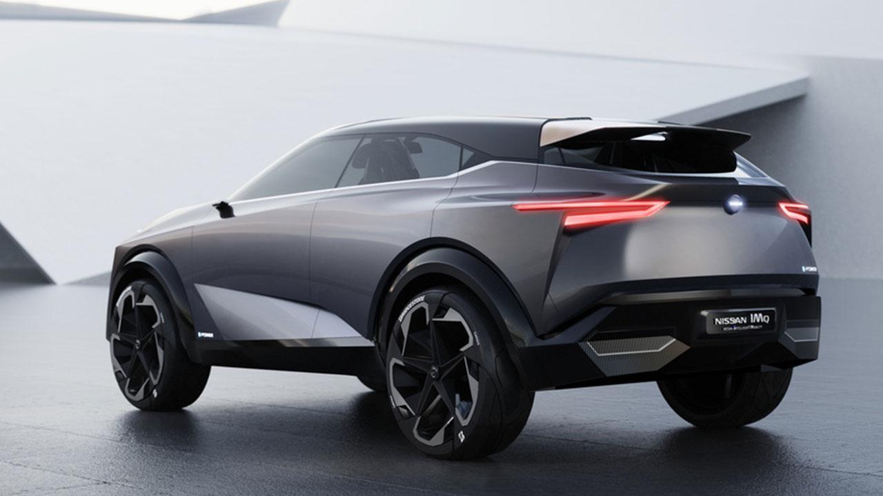 Nissan IMQ Concept - seitliche Heckansicht