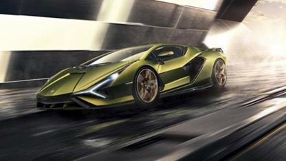 Lamborghini Sian - in voller Fahrt