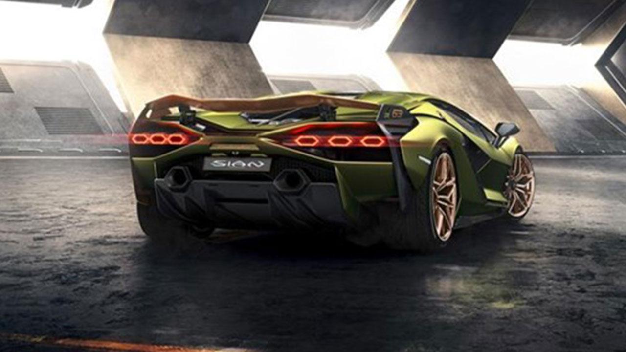 Lamborghini Sian - Heckansicht