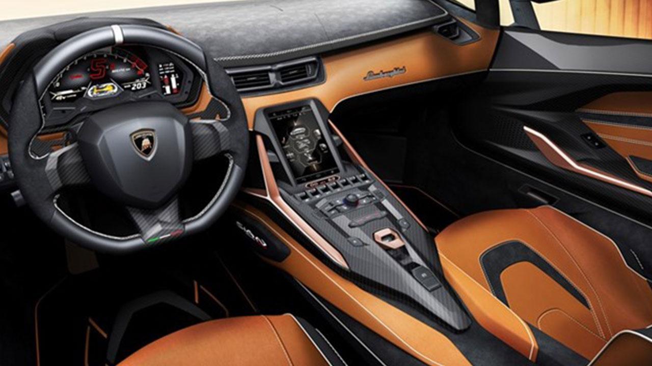 Lamborghini Sian - Cockpit
