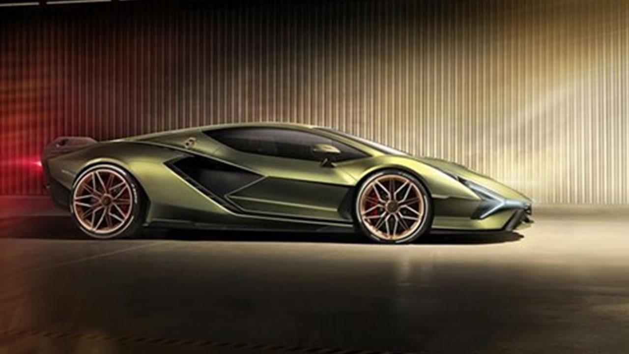 Lamborghini Sian - Seitenansicht