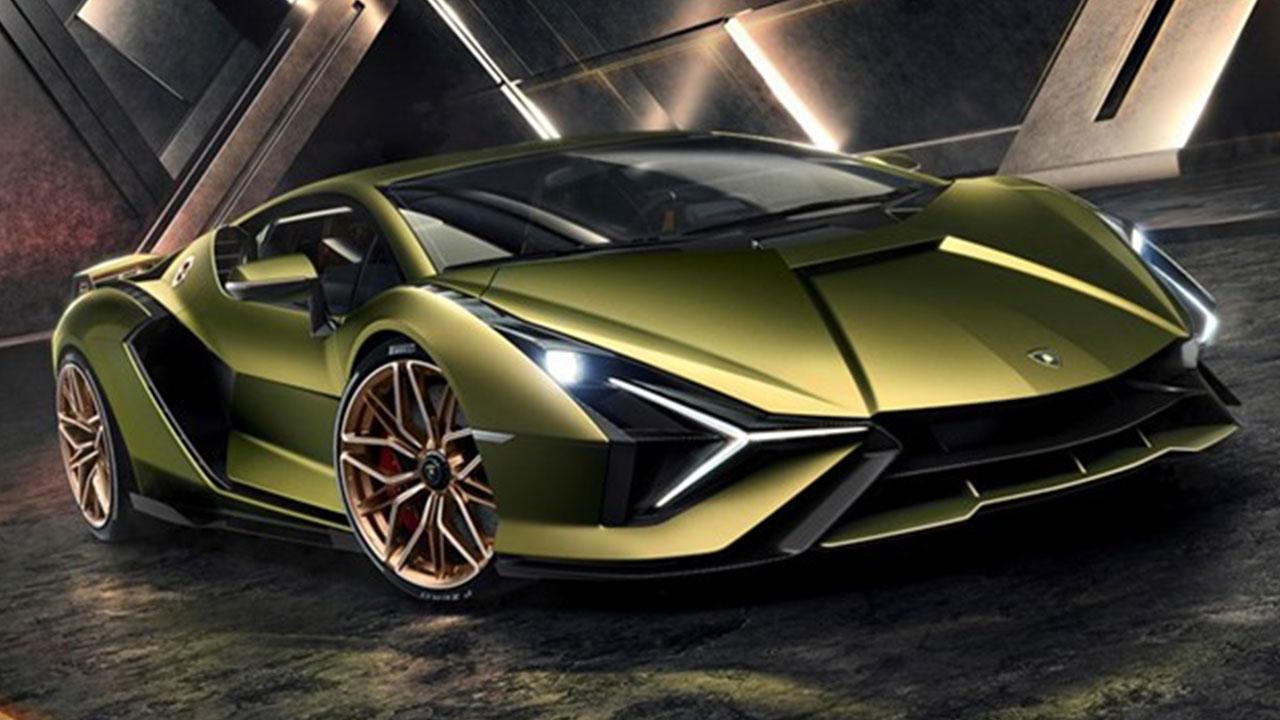 Lamborghini Sian - Frontansicht