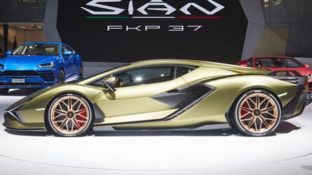 Lamborghini Sian - im Showroom