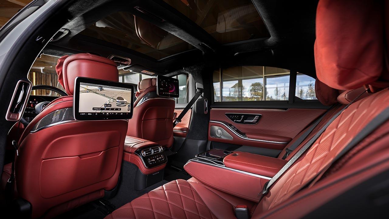 Die neue Mercedes-Benz S-Klasse Digital - Innenraum