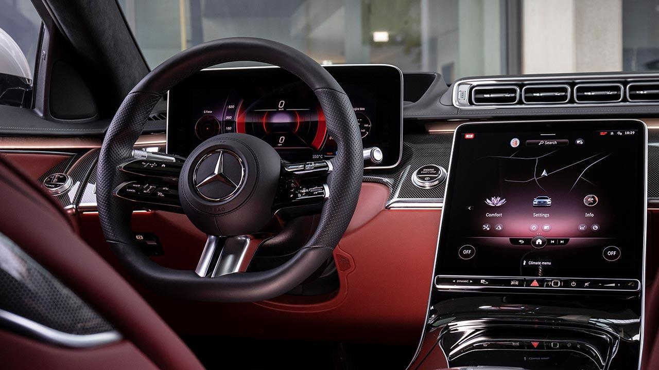 Die neue Mercedes-Benz S-Klasse Digital - Cockpit