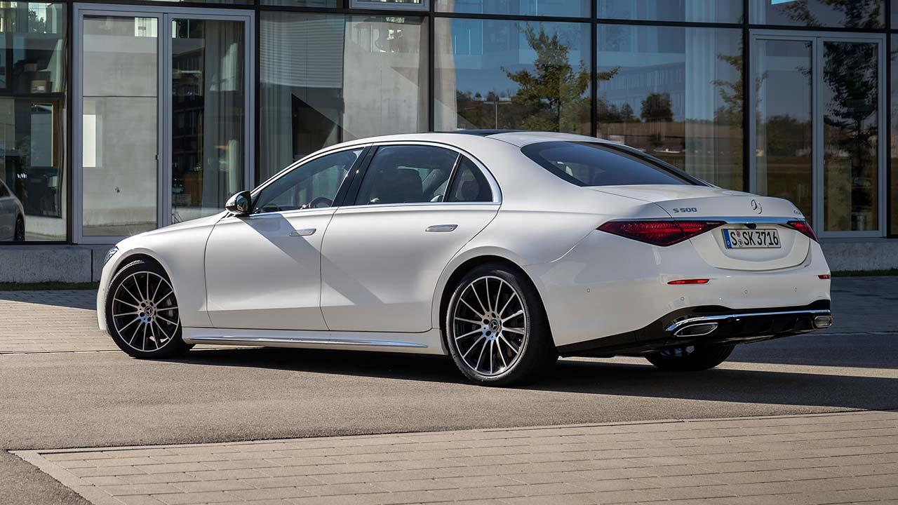 Die neue Mercedes-Benz S-Klasse Digital - Seitenansicht