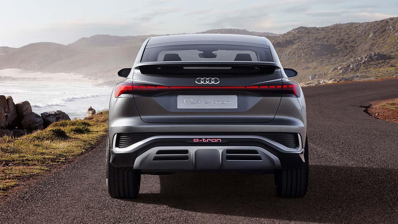 Audi Q4 Sportback e-tron Concept - Heckansicht