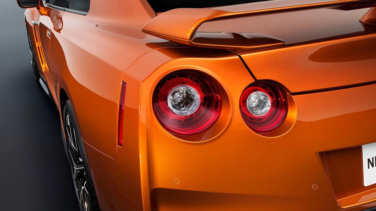 Nissan GT-R - Heckansicht