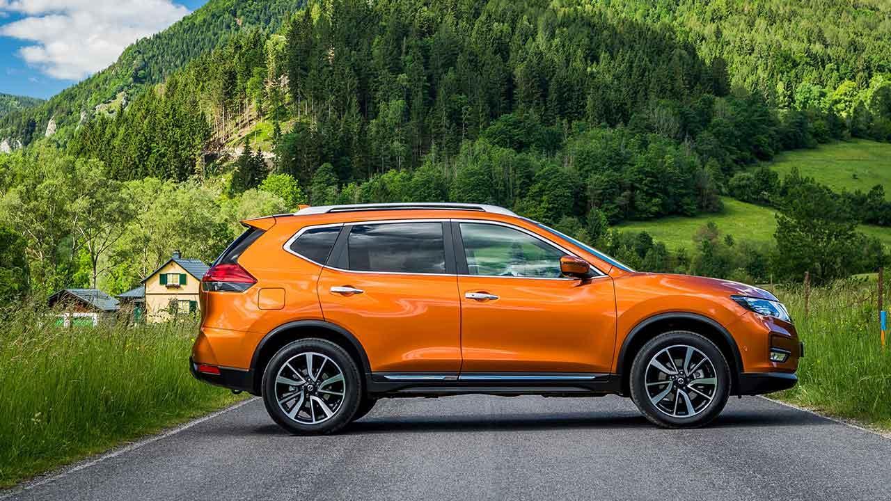 Nissan X-Trail - Seitenansicht