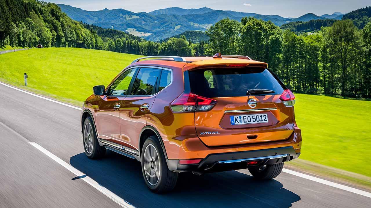 Nissan X-Trail - Heckansicht