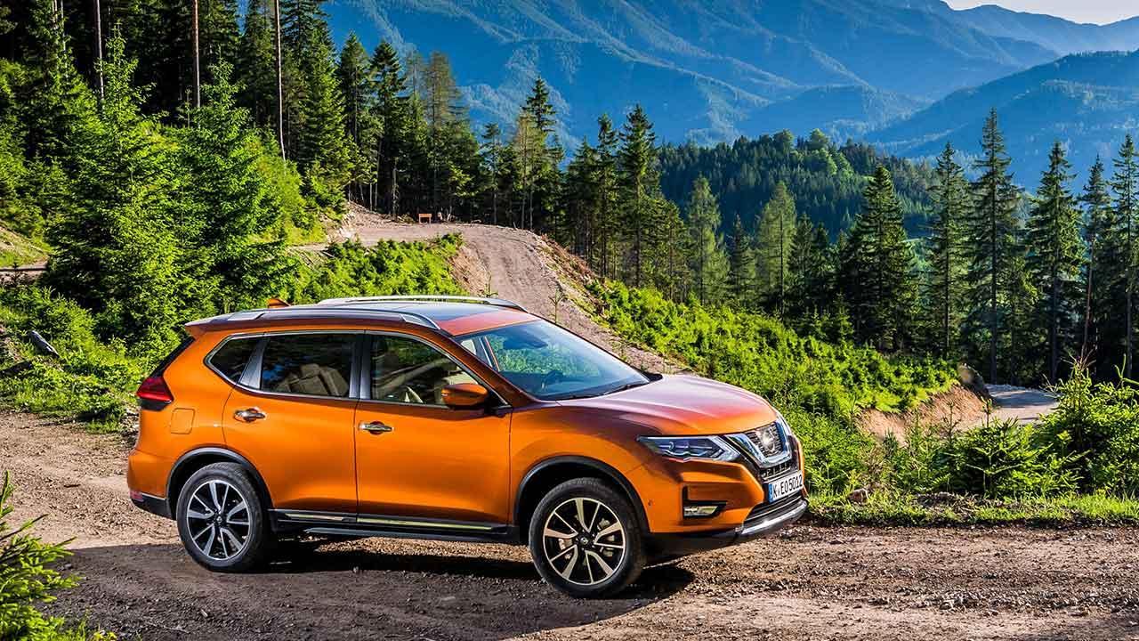 Nissan X-Trail - im Wald