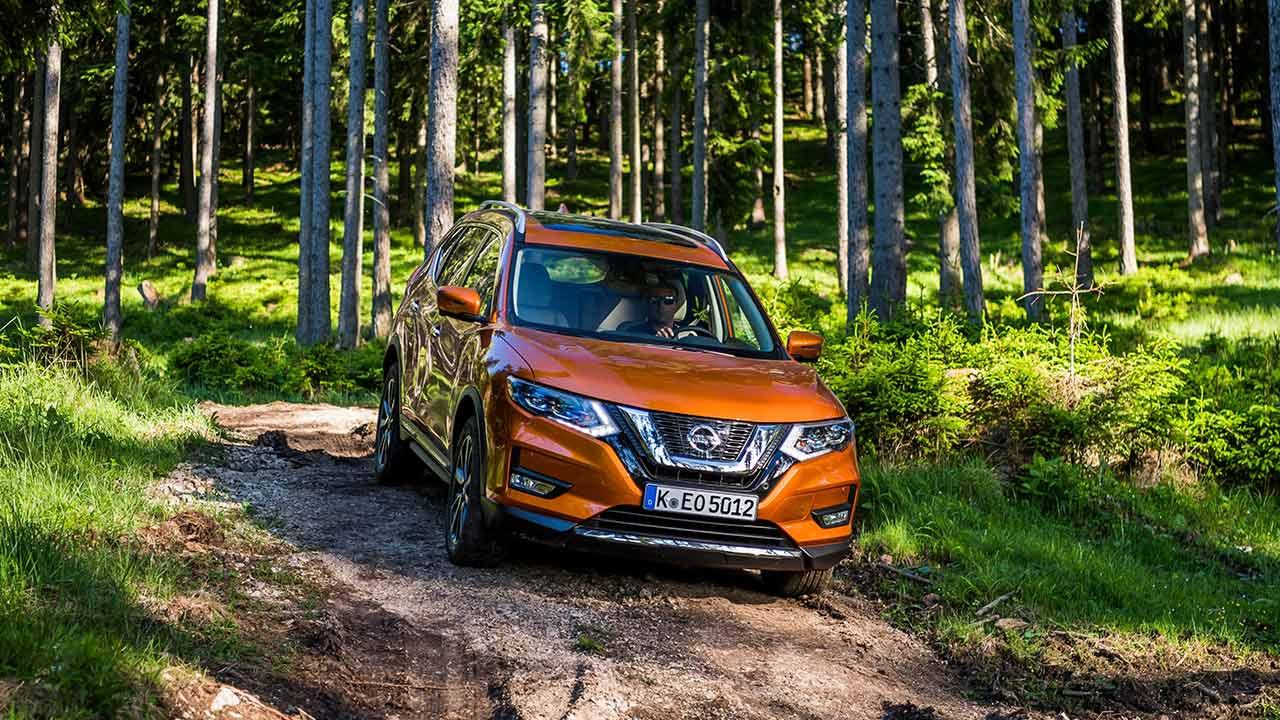 Nissan X-Trail - Frontansicht