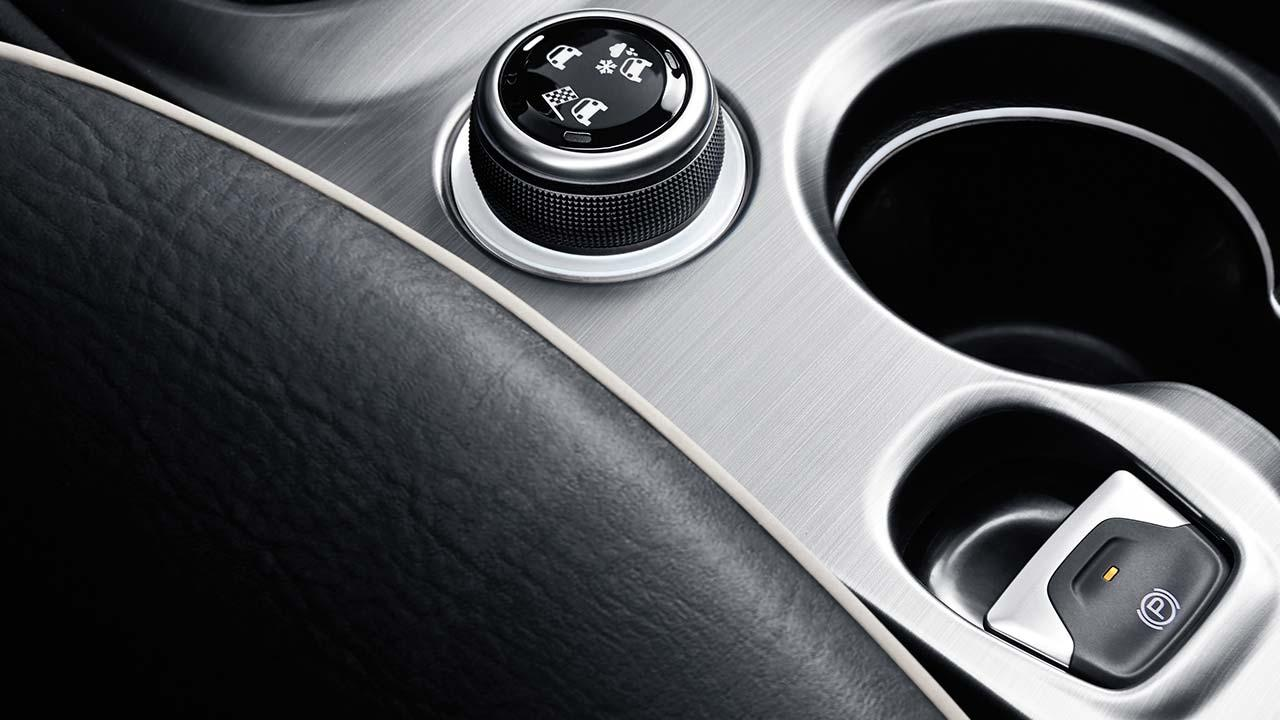 Fiat 500X - Bedienungskonsole