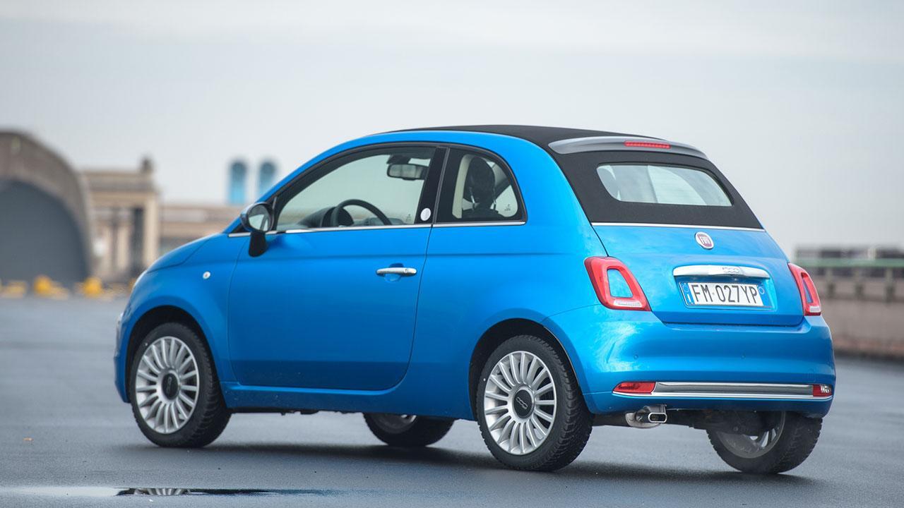Fiat 500 - Seitenansicht