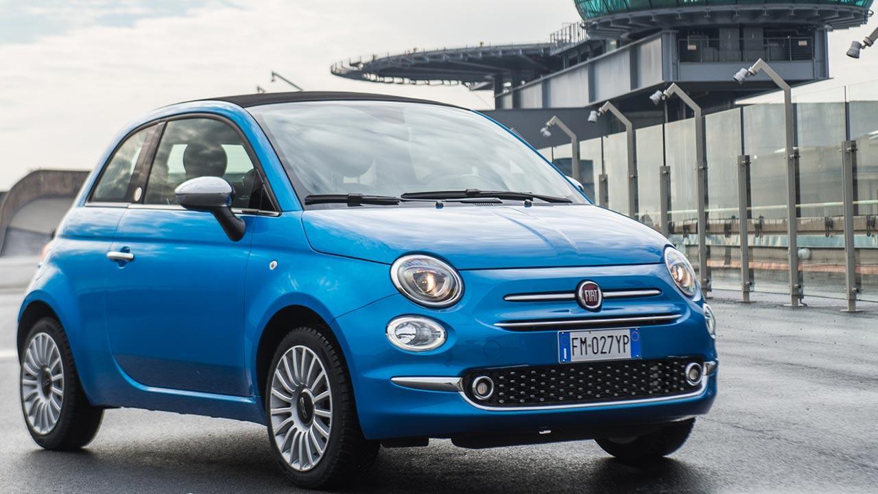 Fiat 500 - Frontansicht