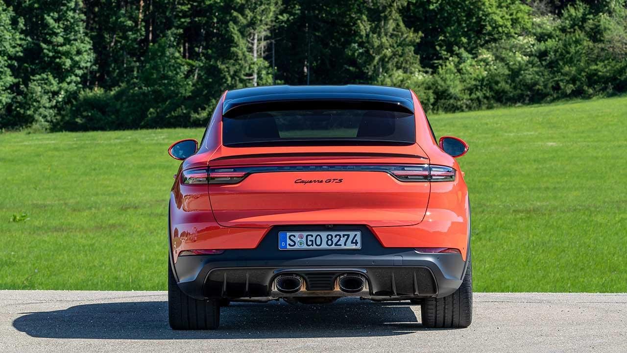 Porsche Cayenne GTS Coupé - Rücksitze