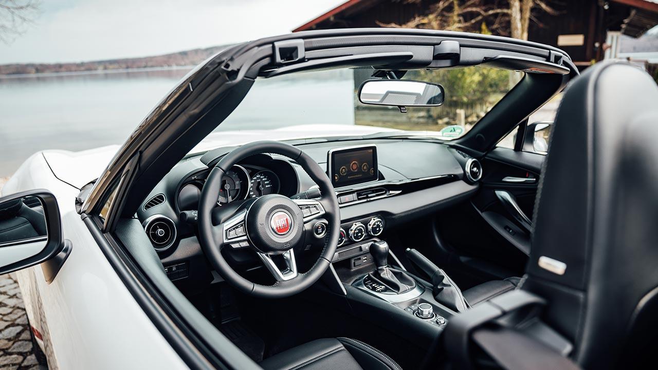 Fiat 124 Spider - Cockpit